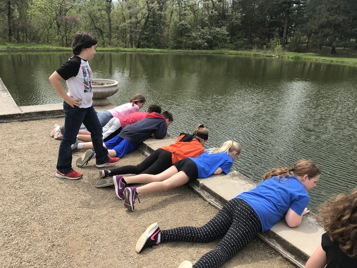 4th grade enjoyed a field trip at Allerton Park today! It was a beautiful day!